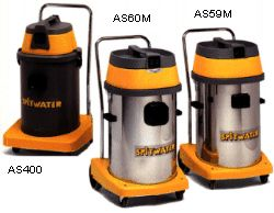 Spitwater wet and dry vacuum cleaners
